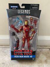 Marvel Legends Civil War Captain America: Iron Man Mark 46 (Giant Man BAF) - NEW