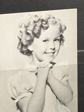 Old Shirley Temple Postcard