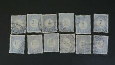 Netherlands 1912-1920 Collection of Postage Dues Used