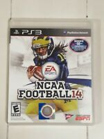 CIB NCAA Football 2014 PlayStation 3 PS3 Tested and Confirmed Working Complete
