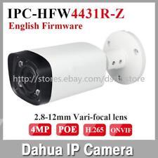 Dahua IPC-HFW4431R-Z 2.7-12mm Motorized Lens IR 80M 4MP H.265 POE Bullet camera