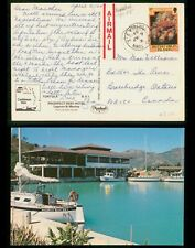 Mayfairstamps British Virgin Islands 1984 Tortola to Canada Chrome Postcard wwf3