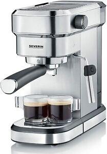 Severin KA 5994 Espresa Coffee Maker Espresso,1350 W 37.2oz Stainless Steel