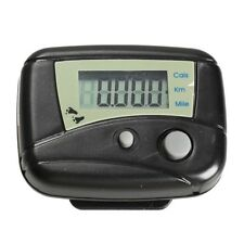 Walking Counter Step Run Distance Cal Digital Pocket Pedometer Clip Pack of 2