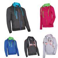 Mens New Hoodies Zip Up Plain Zipper Fleece Jumper Hood Top Embroided All sizes