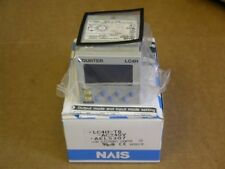 NAIS LC4H-T6-AC240V DIN 48 Size LCD Electronic Counter 11 Pin Tube Type Plug