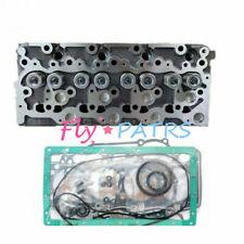 For Bobcat 773 773C 773F 773G Kubota V2203 Complete Cylinder Head & Full Gasket
