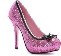 Pink Princess Shoes Glitter Sparkle UK 3.5 US Import UK Seller