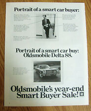 1972 Oldsmobile Delta 88 Ad Portrait of a Smart Buyer