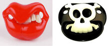 PIRATE & ELVIS PACIFIER 2 pack halloween costume baby boys infant shower gift