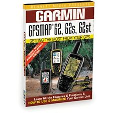 GARMIN GPS MAP 62: 62, 62S, 62ST NEW DVD