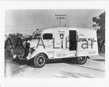 1936 Studebaker 2M282 Refrigerator Van, Truck, Milk, Factory Photo (Ref. #77917)