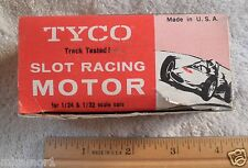 1960's Slot car motor TYCO 1/24 1/32 12V 902-398  engine MIB never used NICE!