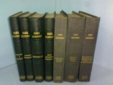 HIGHER ACCOUNTANCY 7 VOLUME SET, 1924, LA SALLE UNIV, SEEMINGLY UNUSED CONDITION