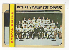1972-73 TOPPS HOCKEY # 1 STANLEY CUP CHAMPIONS NICE CARD