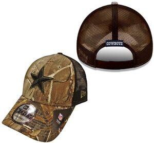 Dallas Cowboys Olive Realtree Trucker Snapback Hat / Cap …