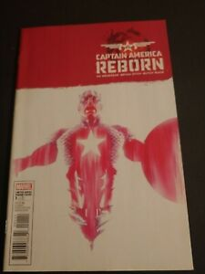 Captain America Reborn    # 1 Variant Cover    ( 2009 )    Comic