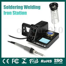 YIHUA60W 220V 60W Digital Soldering Welding Iron Station Tip Weller Adjustable