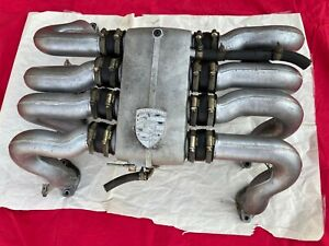 Porsche 928 s s2 AIR INTAKE MANIFOLD 83 84 Complete Assembly OEM