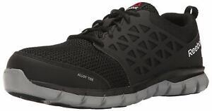 Reebok Work Men's Athletic Oxford Industrial & Construction, Black, Size 10.0 CQ