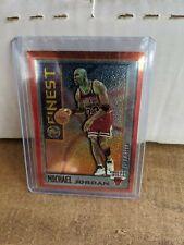 1995 - 1996 Topps Mystery Finest Michael Jordan Chicago Bulls #M1 Basketball Ca…