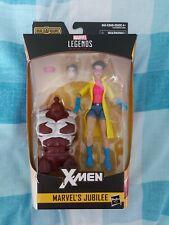 """HASBRO MARVEL LEGENDS X-MEN 6"""" MARVEL JUBILEE FIGURE BAF CALIBAN SEALED NEW"""