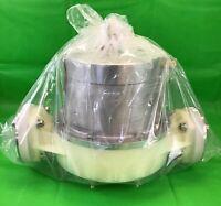 "Yamada AD-40PS Pulsation Dampener, Model 853381, Diaphragm 1 1/2"" In-Line - New"
