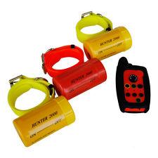COLLARE beeper cane remoto Hunter 2000 per 3 Cani