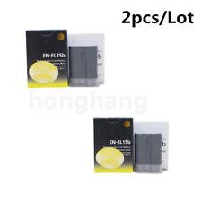 2PCS EN-EL15B ENEL15B Battery For NIKON D7100 D7000 D800 D810 D750