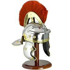 REPLICA STEL FULL SIZE ROMAN HELMET - IDEAL FOR RE- ENACTMENTS