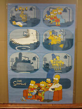 Vintage 2002 The Simpsons poster family tv show  3827
