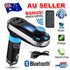 Wireless Bluetooth LCD Mp3 Player FM Transmitter Handsfree Car Kit Usb/sd AU K