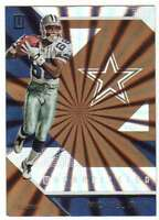 2016 Panini Unparalleled Rainbow Spokes Pattern #107 Michael Irvin Cowboys