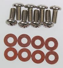 Mk2 Ford Cortina Estate Rear Light Lens Stainless Steel Screws & Fibre Washers
