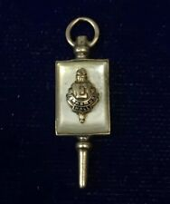 10K Gold Fraternity Charm (2.3g) N-67 Dated 1944 Erasmus Hall Dieges & Clust