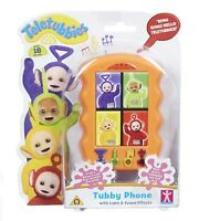 TELETUBBIES TUBBY PHONE Baby Phone Toy Educational Baby Toy Phone