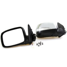 New Chrome Door Wing Mirror Electric LED Blinker Pair For 2008-2012 Isuzu D-Max