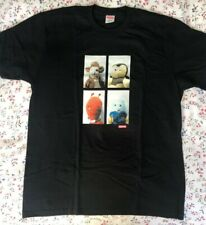 Supreme X Mike Kelley Ahh Youth Black T Shirt Size L