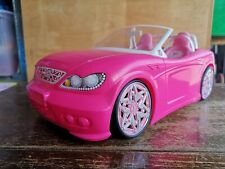 2013 MATTEL BARBIE PINK CONVERTIBLE SPORTS CAR
