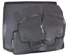 3D TPE Gummimatten + Kofferraumwanne SET für Opel Astra H Caravan 2004-2009