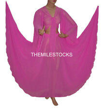TMS ORCHID Chiffon Skirt Top Belly Costume Tribal Dress ROBE JUPE Dance EHS CST1