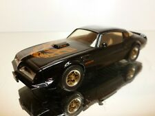 WESTERN MODELS PONTIAC TRAS AM - SMOKEY & THE BANDIT - BLACK 1:43 - VERY GOOD