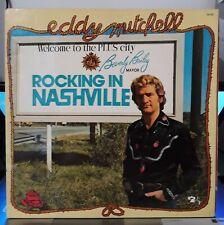 33t Eddy Mitchell - Rocking in Nashville (LP) 1974 Barclay 90.012  (VG+ / NM-)