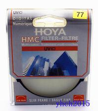 HOYA 77mm Slim MC Multi-Coated Filter Lenses for Canon Nikon Sony HMC UV(C) Lens