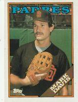 FREE SHIPPING-MINT-1988 Topps Mark Davis #482 PADRES  PLUS BONUS CARDS