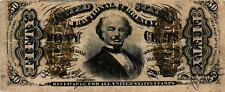 New listing 1864-1869 50 Cent United States Fractional Currency - Spinner - Fr#1331 Vf