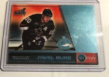 98/99 Pacific Aurora PAVEL BURE Blue Parallel Serial Numbered 055/100