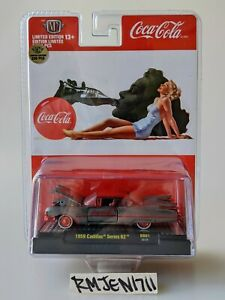 M2 Machines *RAW SUPER CHASE* Coca-Cola Coke 1959 Cadillac Series 62 *READ*