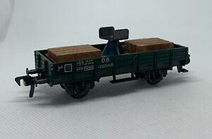 Fleischmann HO Scale 5201 Crane Boom Support Car in Box