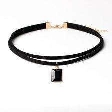 Women Choker Chunky Collar Statement Necklace Pendant Chain Vintage Jewelry Bib